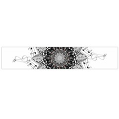 Mandala Misic Large Flano Scarf  by alllovelyideas