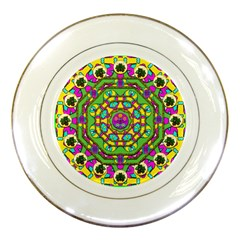 Cool Colors To Love And Cherish Porcelain Plates by pepitasart