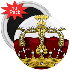 Crown 2024678 1280 3  Magnets (10 Pack)  by vintage2030
