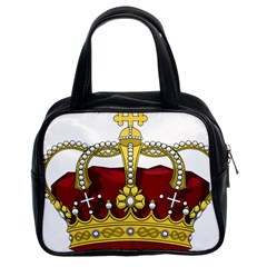 Crown 2024678 1280 Classic Handbag (two Sides) by vintage2030