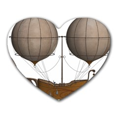 Air Ship 1300078 1280 Heart Mousepads by vintage2030