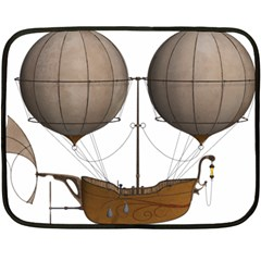 Air Ship 1300078 1280 Fleece Blanket (mini) by vintage2030