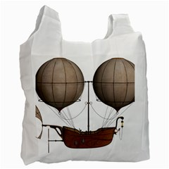 Air Ship 1300078 1280 Recycle Bag (one Side) by vintage2030