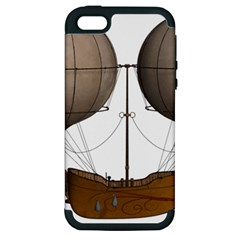 Air Ship 1300078 1280 Apple Iphone 5 Hardshell Case (pc+silicone)