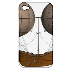 Air Ship 1300078 1280 Apple Iphone 4/4s Hardshell Case (pc+silicone) by vintage2030