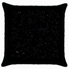 Sky Throw Pillow Case (black) by vintage2030