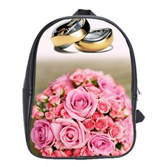 Wedding Rings 251290 1920 School Bag (xl) by vintage2030