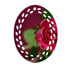 Rose 693152 1920 Oval Filigree Ornament (two Sides) by vintage2030