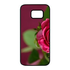 Rose 693152 1920 Samsung Galaxy S7 Edge Black Seamless Case by vintage2030