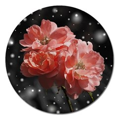 Rose 572757 1920 Magnet 5  (round) by vintage2030