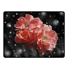 Rose 572757 1920 Fleece Blanket (small) by vintage2030