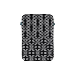 Monochrome Centipede Arabesque Apple Ipad Mini Protective Soft Cases by linceazul