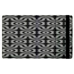 Monochrome Centipede Arabesque Apple Ipad Pro 12 9   Flip Case by linceazul