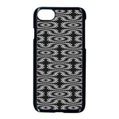 Monochrome Centipede Arabesque Apple Iphone 8 Seamless Case (black) by linceazul