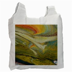 Rainbow Tornado Recycle Bag (one Side)