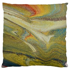 Rainbow Tornado Large Cushion Case (two Sides)