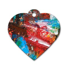 Graden 3 Dog Tag Heart (two Sides) by WILLBIRDWELL