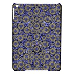 Blue Small Wonderful Floral In Mandalas Ipad Air Hardshell Cases by pepitasart
