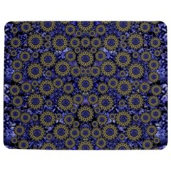 Blue Small Wonderful Floral In Mandalas Jigsaw Puzzle Photo Stand (rectangular) by pepitasart