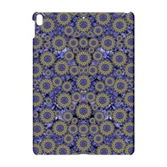 Blue Small Wonderful Floral In Mandalas Apple Ipad Pro 10 5   Hardshell Case by pepitasart