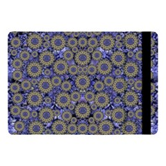 Blue Small Wonderful Floral In Mandalas Apple Ipad 9 7 by pepitasart