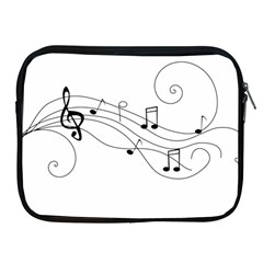 Music Partition Apple Ipad 2/3/4 Zipper Cases by alllovelyideas