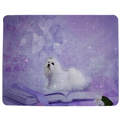 Cute Little Maltese, Soft Colors Jigsaw Puzzle Photo Stand (rectangular)
