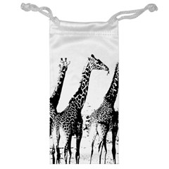 Giraffe  Jewelry Bag by Valentinaart