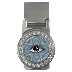 Pop Art Eye Money Clips (cz)