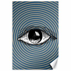 Pop Art Eye Canvas 24  X 36  by Valentinaart