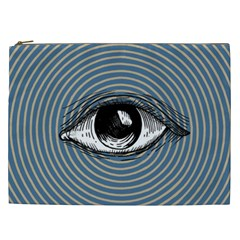 Pop Art Eye Cosmetic Bag (xxl)