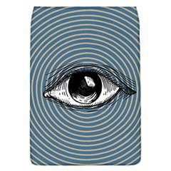 Pop Art Eye Removable Flap Cover (l) by Valentinaart