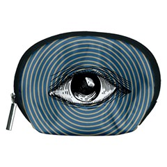 Pop Art Eye Accessory Pouch (medium)