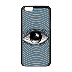Pop Art Eye Apple Iphone 6/6s Black Enamel Case by Valentinaart