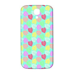 Pastel Rainbow Monstera Samsung Galaxy S4 I9500/i9505  Hardshell Back Case by PodArtist