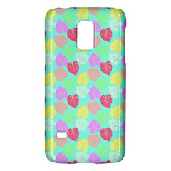 Pastel Rainbow Monstera Samsung Galaxy S5 Mini Hardshell Case  by PodArtist
