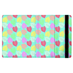 Pastel Rainbow Monstera Apple Ipad Pro 12 9   Flip Case by PodArtist