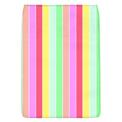 Pastel Rainbow Sorbet Deck Chair Stripes Removable Flap Cover (s) by PodArtist
