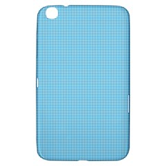 Oktoberfest Bavarian Blue Mini Houndstooth Check Samsung Galaxy Tab 3 (8 ) T3100 Hardshell Case  by PodArtist
