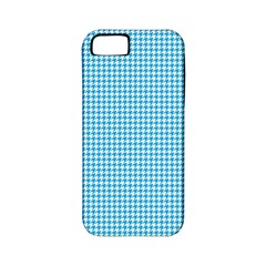 Oktoberfest Bavarian Blue Houndstooth Check Apple Iphone 5 Classic Hardshell Case (pc+silicone) by PodArtist