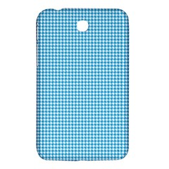 Oktoberfest Bavarian Blue Houndstooth Check Samsung Galaxy Tab 3 (7 ) P3200 Hardshell Case  by PodArtist