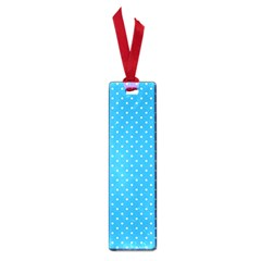 Mini White Polkadots On Oktoberfest Bavarian Blue Small Book Marks by PodArtist