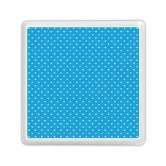 Mini White Love Hearts On  Oktoberfest Bavarian Blue Memory Card Reader (square) by PodArtist