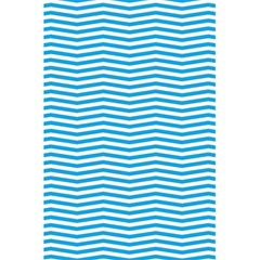 Oktoberfest Bavarian Blue And White Chevron Stripes 5 5  X 8 5  Notebook by PodArtist