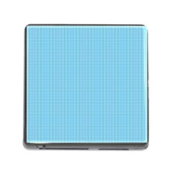 Oktoberfest Bavarian Blue And White Small Gingham Check Memory Card Reader (square 5 Slot) by PodArtist