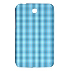 Oktoberfest Bavarian Blue And White Small Gingham Check Samsung Galaxy Tab 3 (7 ) P3200 Hardshell Case  by PodArtist