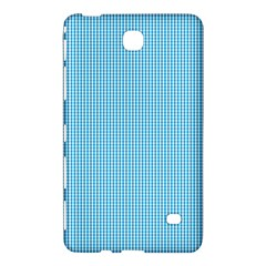 Oktoberfest Bavarian Blue And White Small Gingham Check Samsung Galaxy Tab 4 (8 ) Hardshell Case  by PodArtist