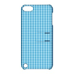 Oktoberfest Bavarian Blue And White Gingham Check Apple Ipod Touch 5 Hardshell Case With Stand by PodArtist