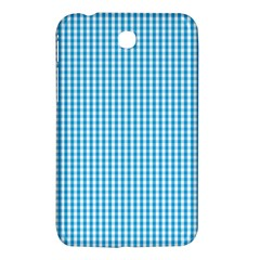 Oktoberfest Bavarian Blue And White Gingham Check Samsung Galaxy Tab 3 (7 ) P3200 Hardshell Case  by PodArtist