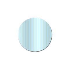 Oktoberfest Bavarian Blue And White Mattress Ticking Golf Ball Marker (10 Pack) by PodArtist